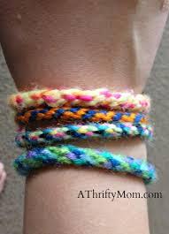 diy bracelet with thread images Friendship bracelet diy bracelet kidscraft yarn jpg