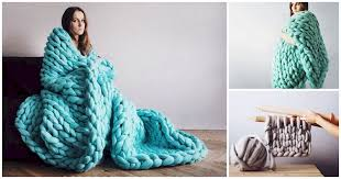 diy blanket make this super thick and cozy blanket diy cozy home