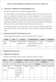 project management plan example trend markone co