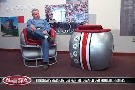 football helmet chairs