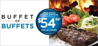 Vegas Cheap Buffet by Buffet Of Buffets Pass Coupons U0026 Deals 2017