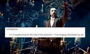 Opera Meme - phantom of the opera inappropriate audition songs know your meme