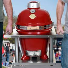 Backyard Grill Cypress by Grill Dome Infinity Series Small Red Kamado Grill With Kamagater