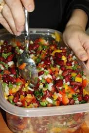 great diabetic recipe mediterranean inspired kidney bean salad 3