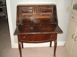Small Vintage Writing Desk Furniture Fantastic Antique Desk With Curved Drawers