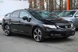 2014 used honda civic sedan honda civic si sedan at europlus