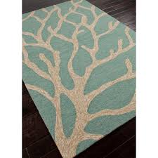 Blue And White Outdoor Rug Jaipur Coastal Lagoon Coral Blue White Col13 Area Rug Free Shipping