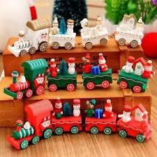 wooden santa claus festival ornament home