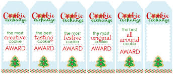 cookie exchange free printables how to nest for less