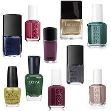 fall nail color picks