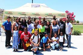 may ranch backpack giveaway readies students for school year