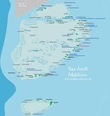 maldives map map of baa atoll maldives and attractions maldives map org