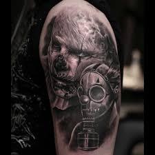 tattoo ideas zombie zombie apocalypse tattoo on shoulder best tattoo ideas gallery