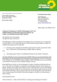 Stadt Baden Baden Grünen Antrag Auf Beitritt Baden Badens Zum Eu Förderprogramm