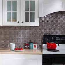 Thermoplastic Panels Kitchen Backsplash Fasade Backsplash Terrain In Galvanized Steel