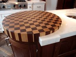 island round butcher block kitchen island round butcher block