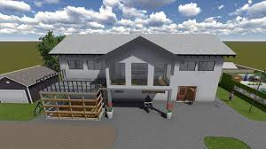 simple house 3d cgtrader