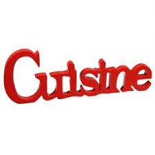 lettres d馗oratives cuisine lettre decorative cuisine maison design wiblia com