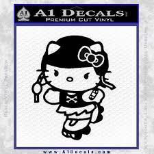 kitty roller derby decal sticker a1 decals