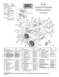 monster truck power wheels grave digger power wheels ride on vehicle replacement parts and parts diagram