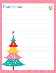 free printable santa letter templates