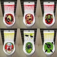 European Design Home Decor Aliexpress Com Buy Halloween Festival Skull Decoration Toilet