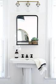 Mirror On Mirror Bathroom Black Framed Bathroom Mirror Bathrooms