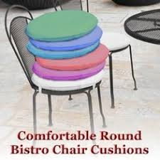 Small Bistro Chair Cushions Navy Blue 17 Inch Indoor Outdoor Bistro Chair Cushion Set