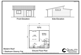 granny flat floor plan meadow lea 1 bedroom granny flat kit home kit homes online 1