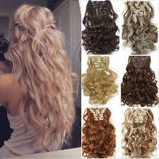 real hair clip in extensions clip in real hair extensions ebay