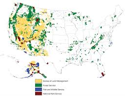 map us parks national parks forests wildlife refuges and other lands what s