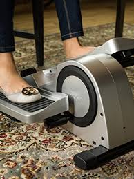 under desk foot exerciser i tried an under desk elliptical machine because january allure