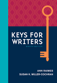keys for writers 8th edition 9781305956759 cengage