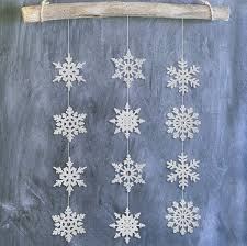 aliexpress com buy pack 8 silver gold snowflake wall hanging