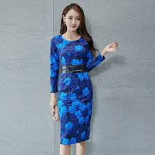 blue frock dress dressed for less