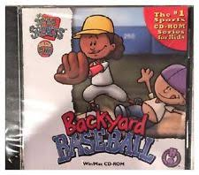 Play Backyard Baseball 2003 Sports Baseball Pc Video Games Ebay