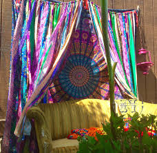 mandala tapestry curtains boho curtain dorm decor
