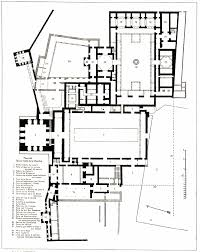 Adobe Plans High Resolution Plan 65 Alhambra Palace Granada Spain Nasrid