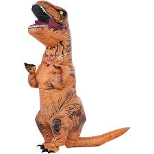 jurassic world t rex inflatable child halloween costume walmart com