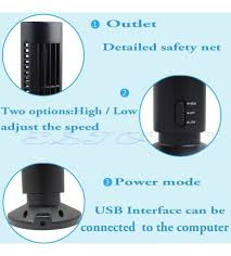 Desk Tower Fan Air Conditioner Coolingdesk Tower Fan