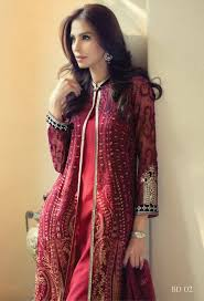beautiful and elegant eid dresses designs 2016 for girls top