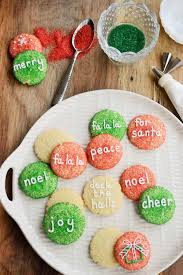 christmas cookies one round cutter 31 ideas relish
