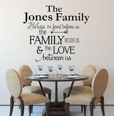 kitchen decals bless the food before us wall decal by decor design