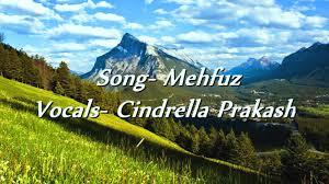 mehfuz lyrics cindrella prakash