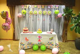 simple birthday decoration ideas at home interior design simple butterfly themed birthday party
