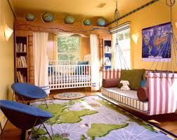 fetching image of orange yellow awesome kid bedroom decoration