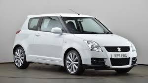 used suzuki swift 1 6 vvt sport 3dr white kp11ebg cardiff