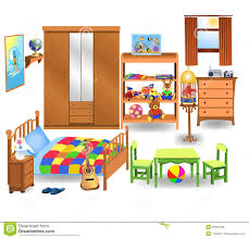 Childrens Bedroom Interior Design Ideas Interior Designs Clipart Childrens Bedroom Pencil And In Color