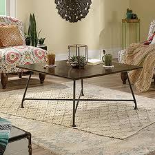 simpli home connaught dark chestnut brown coffee table 3axccon 01
