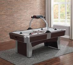 air hockey table over pool table monarch air hockey table american heritage billiards